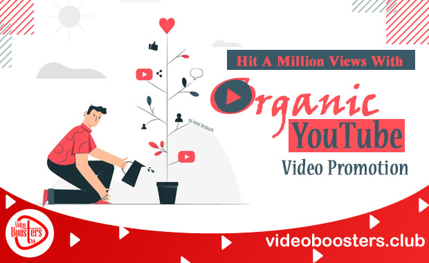 Hit A Million Views With Organic YouTube Video Promotion