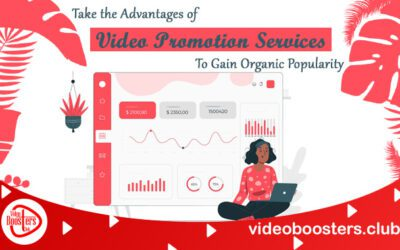 Take The Advantages Of Video Promotion Services To Gain Organic Popularity